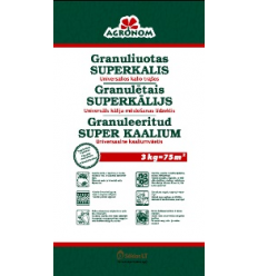 AGRONOM GRANULIUOTAS SUPERKALIS 3KG