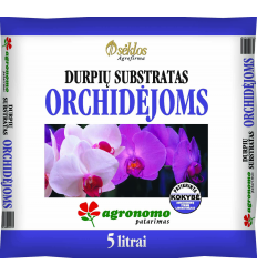 DURPIU SUBSTRATAS ORCHIDEJOMS