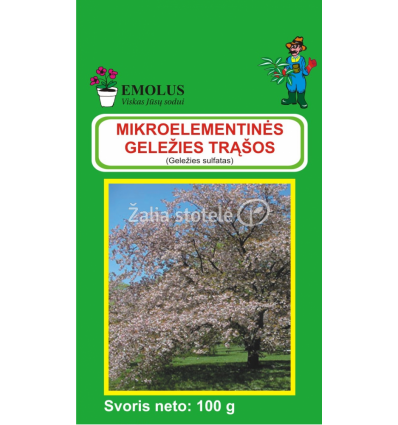 GELEŽIES SULFATAS EMOLUS 100GR