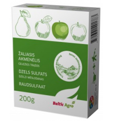 ŽALIASIS AKMENĖLIS - GELEŽIES SULFATAS 200G