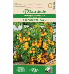 POMIDORAI VALGOMIEJI BALCONY YELLOW H