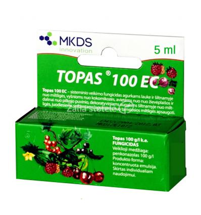 TOPAZAS SISTEMINIS FUNGICIDAS 5 ML