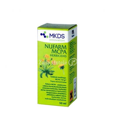 NUFARM MCPA VEJŲ HERBICIDAS 50 ML