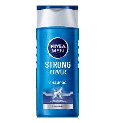 ŠAMPŪNAS NIVEA MEN 250ML STRONG POWER VYRAMS