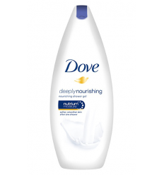 DUŠO ŽELĖ DOVE 250 ML DEEPLY NOURISHING