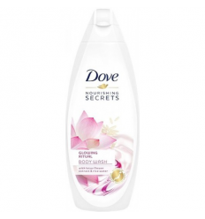 DUŠO ŽELĖ DOVE 250ML NOURISHING SECRETS GLOW-LOTUS