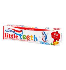 DANTŲ PASTA AQUAFRESH 50ML LITTLE TEETH (3-5M)