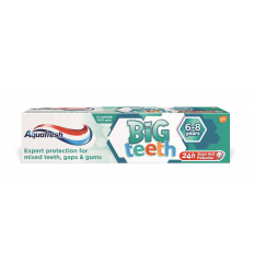 DANTŲ PASTA AQUAFRESH 50ML BIG TEETH