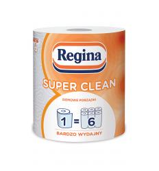 POPIERINIAI RANKŠLUOSČIAI 1VNT 2SL REGINA SUPER CLEAN