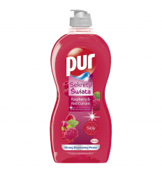 PUR POWER 450ML INDŲ PLOVIKLIS RASPBERRY