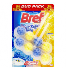 BREF WC 2X50G POWER ACTIV VALIKLIS GAIVIKLIS LEMON