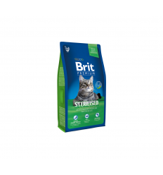 BRIT PREMIUM CAT STERILIZED 1,5KG KATĖMS