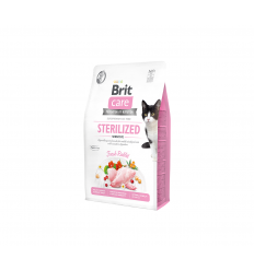 BRIT CARE STERILIZED 2KG KATĖMS