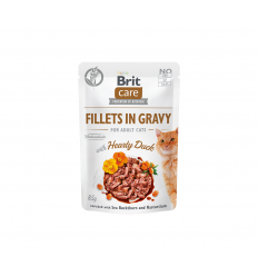 BRIT CARE DUCK FILLETS 85G KATĖMS