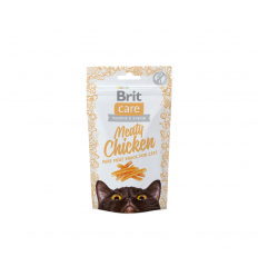 SKANĖSTAS BRIT CARE CHICKEN 50G KATĖMS