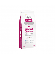 BRIT CARE JUNIOR L LAMB&RICE 12KG ŠUNIMS