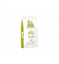 BRIT CARE ADULT S LAMB&RICE 7,5KG ŠUNIMS