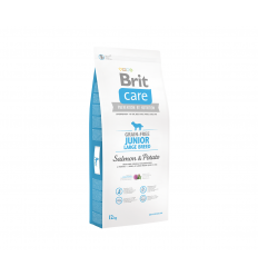 BRIT CARE JUNIOR L SALMON&POTATO 12KG ŠUNIMS
