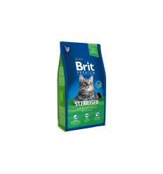 BRIT PREMIUM CAT STERILIZED 8KG KATĖMS