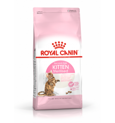 ROYAL CANIN FHN 0,4KG KITTEN STERILISED KAČIUKAMS