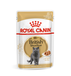 ROYAL CANIN FBN WET 85G BRITISH SHORTHAIR KATĖMS