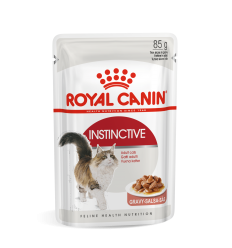 ROYAL CANIN FHN WET 85G INSTINCTIVE IN GRAVY KATĖMS