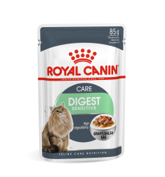 ROYAL CANIN FCN WET 85G DIGEST SENSITIVE IN GRAVY KATĖMS