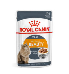 ROYAL CANIN FCN WET 85G INTENSE BEATY IN GRAVY KATĖMS