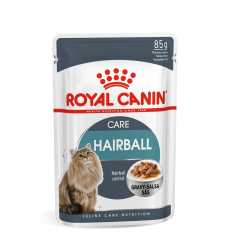 ROYAL CANIN FCN WET 85G HAIRBALL CARE IN GRAVY KATĖMS