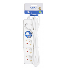 AIRAM ILGIKLIS 5-WAY EXTENSION CORD 3M