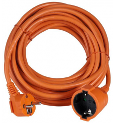 AIRAM ILGIKLIS 1-WAY EXT.CORD ORANGE IP20 20M