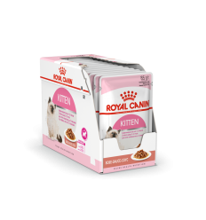 ROYAL CANIN FHN WET 85Gx12 KITTEN INSTINCTIVE IN GRAVY KAČIUKAMS
