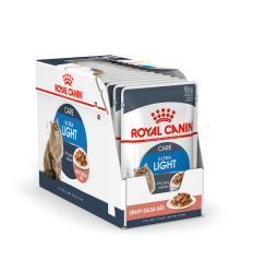 ROYAL CANIN FCN WET 85Gx12 ULTRA LIGHT IN GRAVY KATĖMS