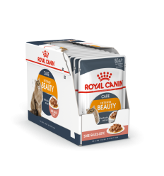 ROYAL CANIN FCN WET 85Gx12 INTENSE BEATY IN GRAVY KATĖMS