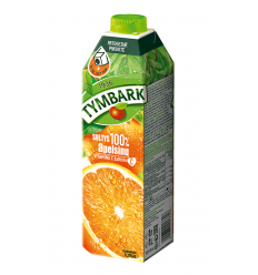 TYMBARK APELSINŲ SULTYS 100% 1L