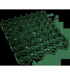 KORYS VEJAI JUODAS (HDPE) 494x494x63 MM
