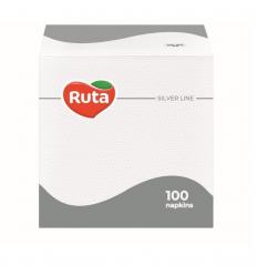 SERVETĖLĖS RUTA 24Х24 100L 1SL BALTA