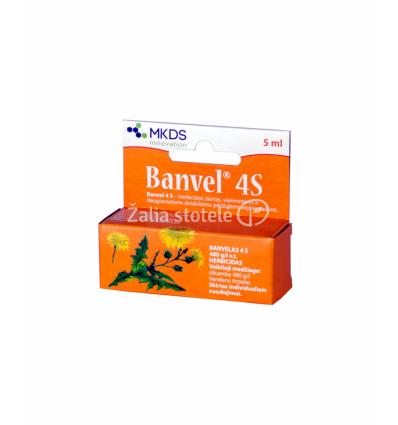 BANVEL SISTEMINIS VEJŲ HERBICIDAS 5 ML