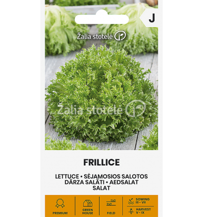 SĖJAMOSIOS SALOTOS FRILLICE