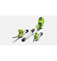 GREENWORKS GENĖTUVŲ KOMPLEKTAS G40PSHK2 + AKUMULIATORIUS DOVANŲ