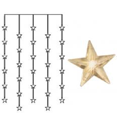 GIRLIANDA LED STAR CURTAIN 0,9 M
