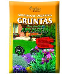"""AUGALINGAS ORGANINIS GRUNTAS """"JŪSŲ JAUKIAI APLINKAI"""" 32 L"""