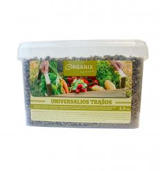 ORGANIX UNIVERSALIOS TRĄŠOS 2,5KG