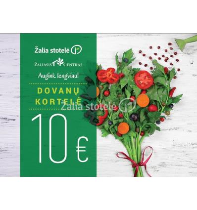 DOVANŲ KORTELĖ 10EUR